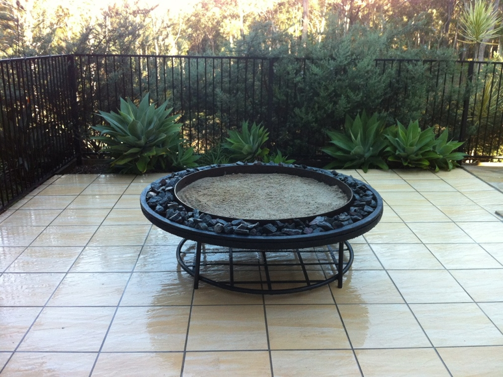 Potanico large fire pits for Big fire pit